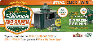 Stihl Big GreenEGG