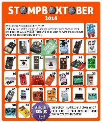 Stompboxtober 2016: 31 Days of Pedal Giveaways
