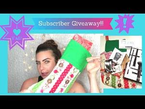 Subscriber Appreciation Holiday Giveaway