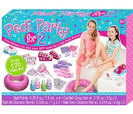 SUGAR SHACK DELUXE PEDI PARTY FOR 2 SET