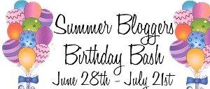 Summer Blogger Birthday Bash