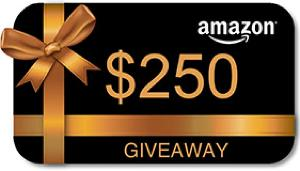 Summer Giveaway win a $250 Amazon gift Card