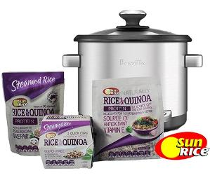 SunRice and Breville Packs Giveaway!