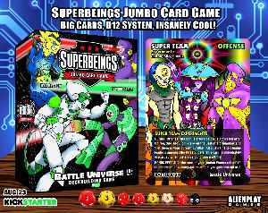 Superbeings Jumbo Card Game Giveaway