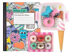 Sweet Treats School Supplies Bundle from Yoobi!