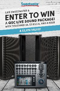 Sweetwater Sound Giveaway