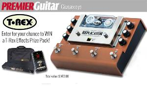 T-Rex Effects Prize Package ($1,473)