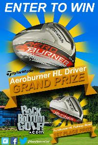 Taylor Made Aeroburner HL Driver or Fairway Wood