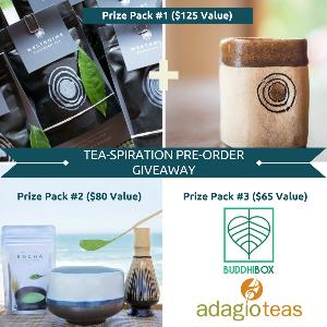 Tea-spiration Book Pre-Order Giveaway