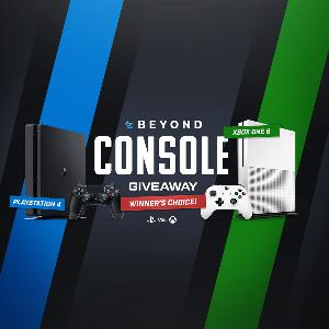 Team Beyond Winner's Choice Console Giveaway