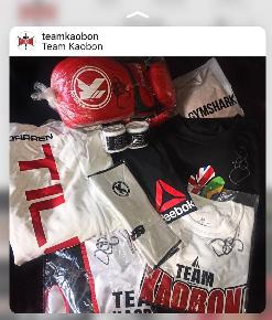 TEAM KAOBON - Darren Till's signed shirts and more!