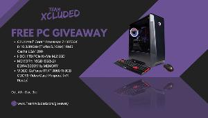 Team Xcluded will be giving away a great starter PC for their supporters, AGAIN!