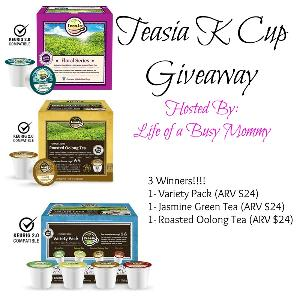 Teasia K Cup Giveaway