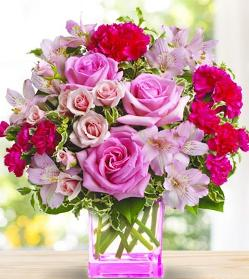 Teleflora Pink Grace Bouquet Giveaway!