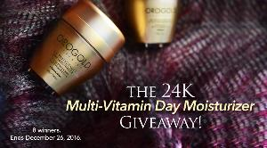The 24K Multi-Vitamin Day Moisturizer Giveaway
