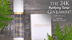 The 24K Purifying Toner Giveaway ($58 Value!)