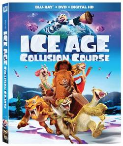 The All-New Ice Age: Collision Course Bluray Combo