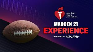 The American Heart Association is giving away the opportunity to play Madden against a REAL NFL Player in this AWESOME new giveaway!- 2 winners!!
