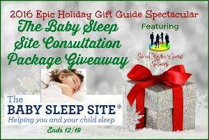 The Baby Sleep Site Consultation Package Giveaway