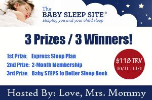 The Baby Sleep Site Giveaway
