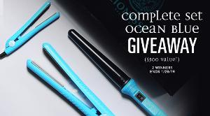 The Complete Set Ocean Blue Hair Care Giveaway ($500 Value!) 2 winners