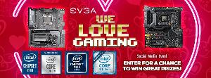 The EVGA We Love Gaming Social Media Event