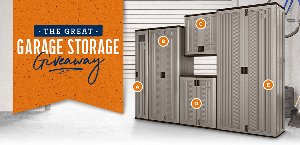 the Great Garage Storage Giveaway!