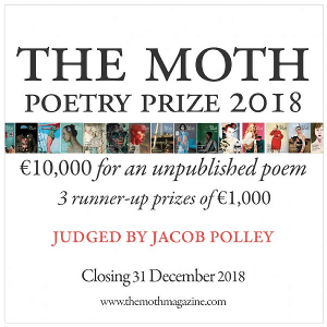 The Moth Poetry Prize 2018