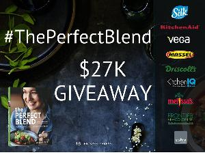 The Perfect Blend Giveaway (Silk, KitchenAid, Vega, Massel, Driscoll's, KitchenIQ, Melissa's, Frontier Co-op, Navitas Naturals)