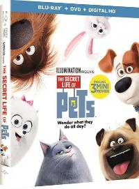 THE SECRET LIFE OF PETS Blu-Ray Combo Pack Giveaway