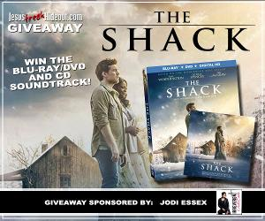 The Shack Blu-Ray/DVD and CD Soundtrack Giveaway