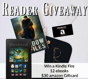 The Shadow Files Kindle Fire Giveaway + books