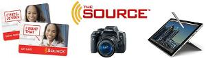 The Source gift card banner