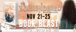 the surrendered by Case Maynard book blast and international giveaway