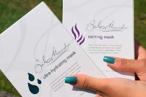 The two boxes of masks available to be won!