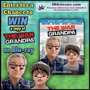 the war with grandpa giveaway