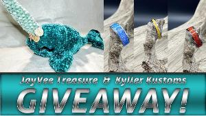 The winner will receive a Narwhal plushie made by JayVee Treasure & a custom opal ring made by Kyller Kustoms.