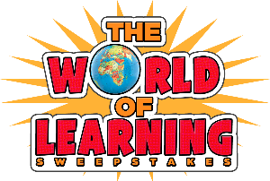 The world of learning sweepstakes, globe as o