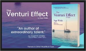 There will be Fourteen (14) winners for this tour. Seven (7) winners will each receive a $15 Amazon.com Gift Card and Seven (7) winners will each receive a physical copy of The Venturi Effect by Sage Webb