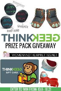 ThinkGeek Prize Pack Giveaway