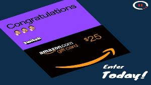 Three $25 gift cards - Amazon or Twitch!- 3 winners!!