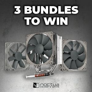 Three lucky entrants will each bag an NH-U12S redux CPU cooler, an NA-FK1 second fan kit, two NF-S12B redux-1200 PWM case fans, and a tube of NT-H1 3.5G premium-grade thermal compound!
