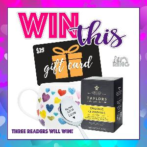 Three lucky winners will each receive a Date Night prize pack OR a $50 Amazon gift card!!