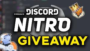 THREE LUCKY WINNERS WILL RECEIVE ONE MONTH OF DISCORD NITRO EACH!