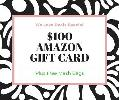 $100 Amazon Gift Card giveawa