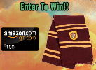 $100 Amazon Gift Card Harry Potter scarf
