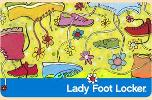 $100 Lady Foot Locker Email Gift Card