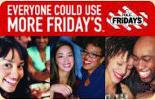 $100 T.G.I. Friday's Gift Card