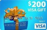 $200 Visa Gift Card Giveaway by Snag Free Samples!