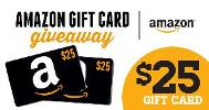 $25 Amazon/iBooks/Barnes & Noble Gift Card -- 2 winners